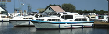 Potter Heigham, a starting point for Norfolk Broads boat hire