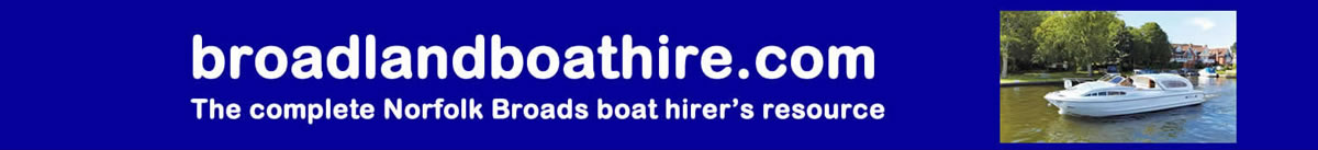 Broadland Boat Hire header image