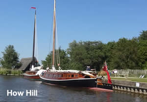 How Hill moorings
