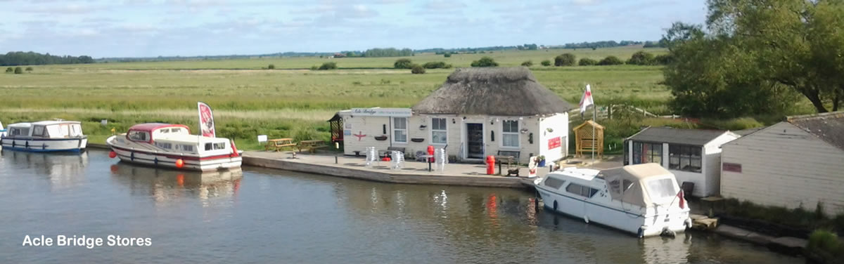 Acle Riverside Stores on the Norfolk Broads